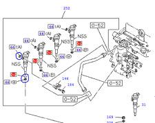 Injector Seals Set - Isuzu Trooper 3.0, 4JX1