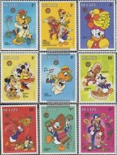 belize 934-942 (complete issue) unmounted mint / never hinged 1986 Walt-Disney-F