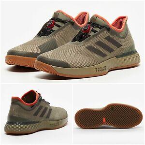 NWT $140 ADIDAS Adizero Ubersonic 3 Women's Shoes Brown/Orange SELECT SIZE