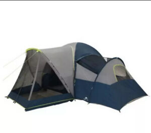 Ozark Trail 10 Person Modified Dome Tent with Screen Porch NEW Free Ship