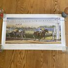Michael Geraghty / Seattle Slew / Signed & Numbered 1/925 / Horse Racing Art
