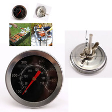 Grill Meat Thermometer Double Metal BBQ Oven Thermostat Gauge For Cooking Analog