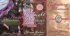 Eloisa James PLEASURES TRILOGY Historical Romance Collection Set Paperbacks 1-3