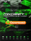 MIXCRAFT 9 RECORDING STUDIO - AUDIO MUSIC SOFTWARE - DIGITAL - WINDOWS - NEW