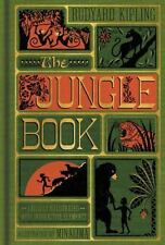 The Jungle Book (Illustrated with Interactive Elements) by Rudyard Kipling (2016, Hardcover)