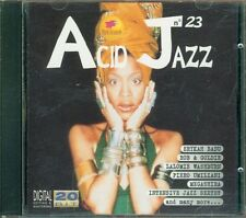 Acid Jazz Vol. 23 - Erykah Badu/Piero Umiliani/Goldie Cd Perfetto Spedito in 48H