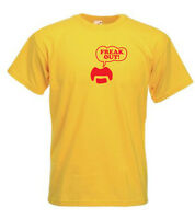 Frank Zappa Freak Out Moustache inspired Retro Tshirts Men, Ladies Fit, kids