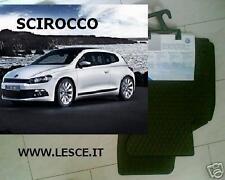 Scirocco Tappetini Originali  Gomma Volkswagen
