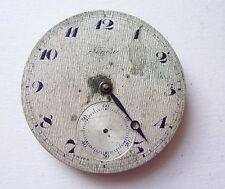 Running Movimiento Reloj De Bolsilo Segisa Pocket Watch Movement No
