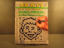 Mad Magazine Super Special March 1993 Games, Puzzles & Other Wastes of Time