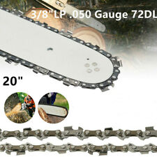 "20"" Chainsaw Saw Chain Blade Sears 3/8""LP .050 Gauge 72DL IN STOCK"