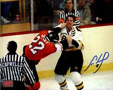Cam Neely Boston Bruins Signed Autographed Fight Rick Tocchet Flyers 16x20