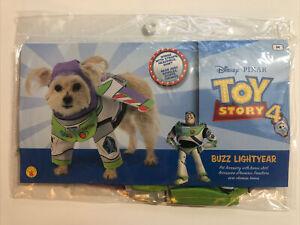 Disney Pixar Buzz Lightyear Toy Story Pet Halloween Costume Size M New