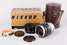 Nikon Nippon Kogaku Nikkor P 105mm f/2.5 2.5 Manual Focus Lens, Fr Nikon S Mount