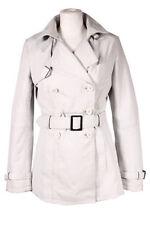 Cappotti e giacche da donna trench bianco casual