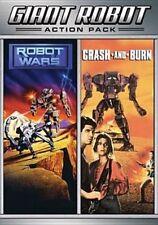 Crash and Burn Robot Wars 0826663126204 DVD Region 1 P H