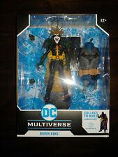 "ROBIN KING McFarlane Toys DC Multiverse 7"" Figure MIB Darkfather BAF Death Metal"
