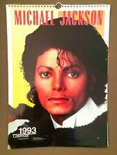 MICHAEL JACKSON calendar 1993 by by Culture Shock UK (H.12)