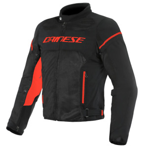 Motorcycle Textil Jacket DAINESE AIR FRAME D1 TEX black/black/red - size 54