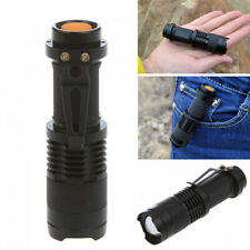 Super Bright 5000LM CREE Q5 3 Modes LED Flashlight Torch AA/14500 StrapZOOMABLE