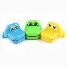 Kids Toy Multicolor Crocodile Mouth Teeth Game Bite Fingers Joke Gift ABS  1Pc