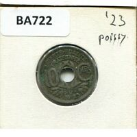 10 CENTIMES 1923 FRANCE French Coin #BA722GW