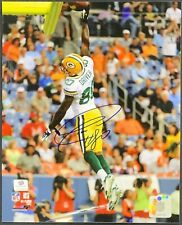 Donald Driver Green Bay Packers Signed 8x10 Photo Auto Rodgers Favre GA COA
