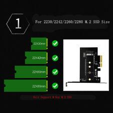 PCI-Express PCI-E 3.0 X4 to M.2 NGFF M Key Slot Converter Adapter Card M2 N U4A7
