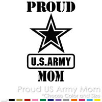 PROUD US ARMY MOM MILITARY AIR FORCE PARENTS CUSTOM VINYL DECAL STICKER