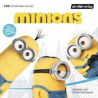 OLIVER ROHRBECK - MINIONS-DAS ORIGINAL-HÖRBUCH Z.FILM 2 CD NEW