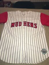 ADULT Large Toledo Mud Hens authentic baseball Jersey Express vintage