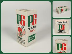 SEALED Vintage 1960's PG Tips 4oz Tea Packet   Brooke Bond   + Collector Card