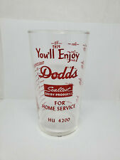 Vintage advertising measuring glass - Dodds Sealtest Dairy Products (1374)
