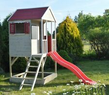 Wendi Toys M7 Spielhaus & Plattform & Rutsche Spielhäuser auf Platfform Kinder