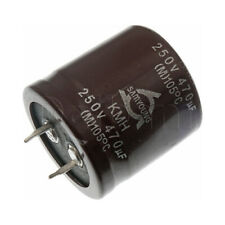 Samyoung 120uF400V 85C 26x40 C4031230013 Snap-in Electrolytic Capacitor Lot-4pcs