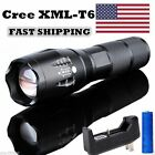 15000LM T6 LED Flashlight Tactical Cree XML Torch Rechargeable+Battery+Charger