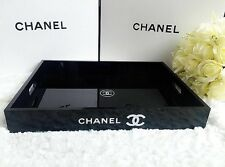 Brand New CHANEL Make Up Cosmetic Jewellery Perfume VIP Gift Tray Extra Large