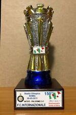"""INTER FC MINIATURA """"COPPA 150° ANNIVERSARIO UNITA D'ITALIA"""" ROMA MAGGIO 2011"""