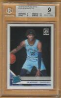 2019-20 Panini Donruss Optic JA Morant Rookie RC Card #168 BGS 9 Mint Memphis