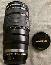 Olympus M.Zuiko 40-150mm F2.8 PRO Lens with Hood, Tripod Foot, Bag and Box