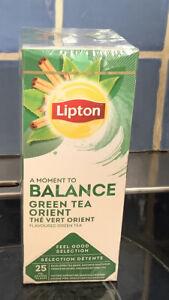 Lipton Green Tea Orient 1 Box Of 25 Teabags