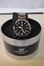 NEW CASIO EDIFICE Men's Stainless Steel Watche Chronograph 100m New EFV510D-1AV