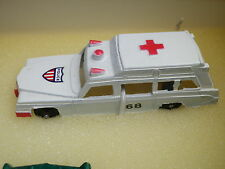 MIDGETOY VINTAGE COLLECTOR AMBULANCE CADILLAC , comme neuf issue du coffret n°1