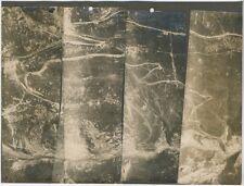 FOTO ORIGINALI riprese aeree area Campanella altopiano Asiago 1a guerra m.