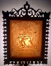 Disney Nightmare Before Christmas Porcelain Lithophane MIB VHTF RARE Lamp