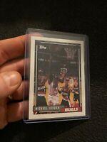 Michael Jordan 1992 Topps #141 NBA RARE ICONIC GOAT NR INVEST Chicago Bulls