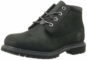 Women's Shoe Timberland Nellie Waterproof Lace Up Chukka 23398 Black *New