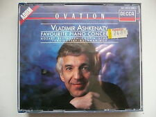 Ashkenazy plays Favourite Piano Concertos Decca 421 445 CD