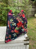 Frida Kahlo Velvet Cushion Cover Mexico Muertes Decorative Pillow case 45*45CM