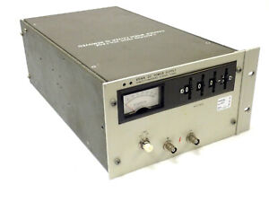 HP 6516A HIGH VOLTAGE DC POWER SUPPLY 0-3000V 0-6MA, RACK MOUNT, TESTED!